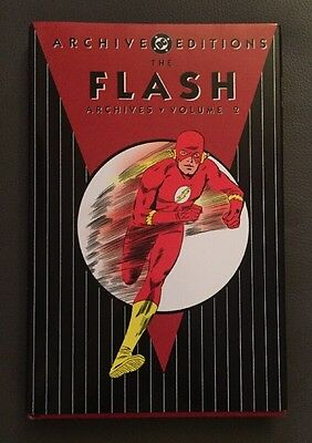 The Flash Archives Volume 2 DC Comics Signed By Carmine Infantino!