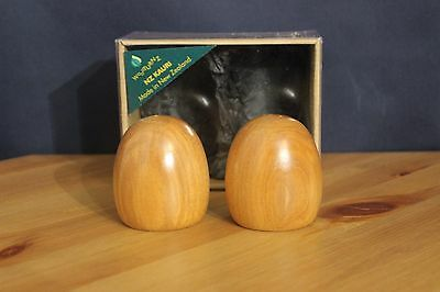 New Zealand Salt And Pepper Shakers Wood