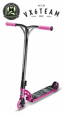 MADD GEAR 2016 MGP VX6 Team Stunt Scooter - Pink / Chrome (SAVE $70)