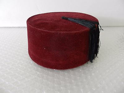 fEZ VINTAGE HAT TARBOOSH CHENNA SHRINERS DOCTOR WHO COMIC CON COSPLAY COSTUME