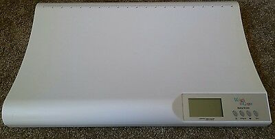 Weigh To Grow Baby Infant Scale Maximum Weight 44 LBS OZ Measuring Tape 20 Inch