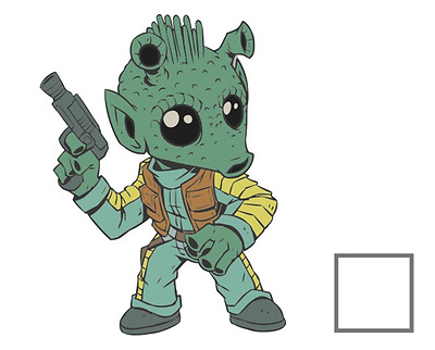 2017 Star Wars Celebration Exclusive Orlando Pin Greedo Limited Edition