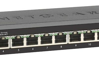 Netgear Switch Gigabit 16P Unmanaged Grey