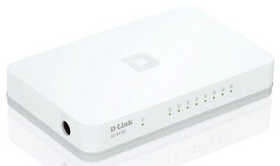 D-Link Switch Gigabit 8P Rj-45 White