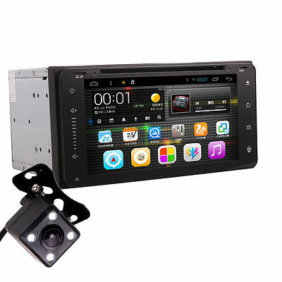 Toyota Car Android Dash DVD Player GPS Radio Bluetooth Head Unit wh Rear Camera
