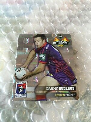 Nrl Rugby League 2006 Hot Shot Silver Tazo 11 Danny Buderus Tazos Cards