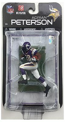 "Adrian Peterson Minnesota Vikings NFL McFarlane Purple Jersey 3"" Action Figure"