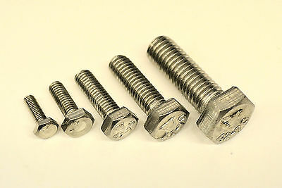 M3 M4 M5 M6 M8 Stainless Steel A2 Hex Head Set Screws / Bolts Hexagon Head