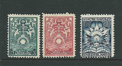 Netherlands 1921 Marine Insurance Values Mh See Both Scans For Condition