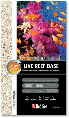Live Reef Base – White Bodengrund Red Sea 10kg Körnung 0,25-1 mm