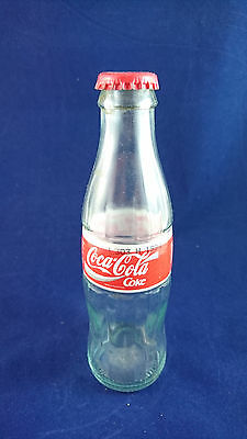 1994 Coca Cola Vintage Glass Bottle Italian Market 200ml 20cl
