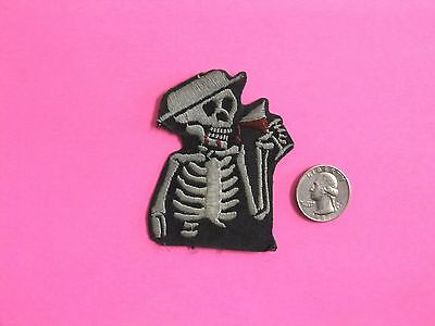 Social Distortion Used Woven Patch Uk Import Iron - On