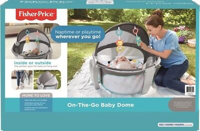NEW Fisher Price On The Go Baby Dome from Mr Toys Toyworld