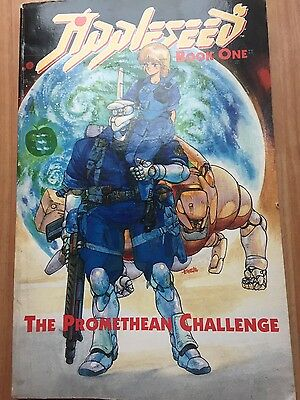 Appleseed Book One 1 The Promethean Challenge Eclipse Comics Manga