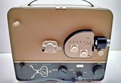 8mm Home Movie Projector Kodak Brownie 300 f/1.6 Lens Model 1 Tested