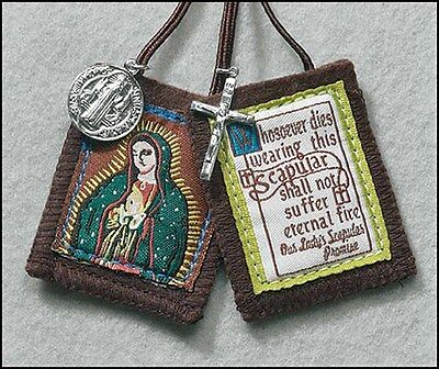 Our Lady of Guadalupe Scapular with Medal (GC175)  NEW