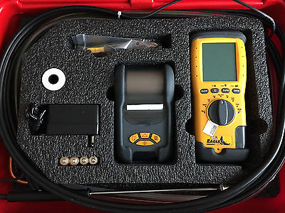UEi C125-Kit Eagle 2 Combustion Analyzer Kit with Printer