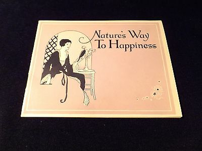 Advertisement Letter & 9 Page Information Pamphlet    ANITA NOSE ADJUSTER 1927