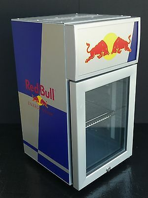 Red Bull OP Baby Cooler RBI-OBC1 LED with Case of 12oz Red Bull