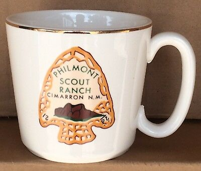 Vintage Boy Scouts Philmont Scout Ranch Cimarron New Mexico Coffee Mug Cup BSA