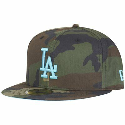 New Era 59Fifty Fitted Cap - WOOD CAMO Los Angeles Dodgers