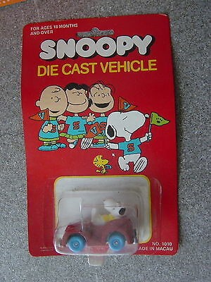 Snoopy-Die Cast Vehicle Modell in Box -Auto   in Box- (chic)