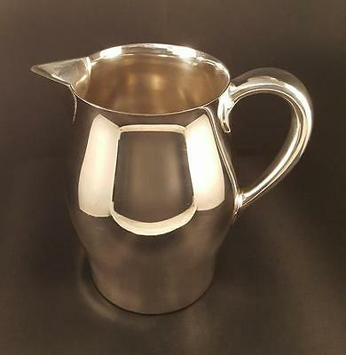 REED & BARTON Paul Revere Style Pitcher Silver Plate #5660 9 1/2H.P