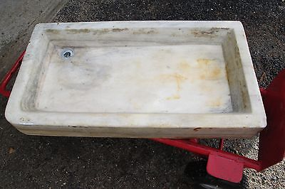 Antique Vermont marble sink