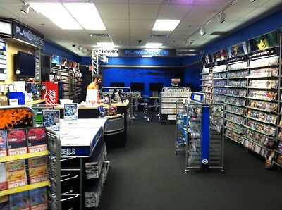 Contents of a Video Game Store