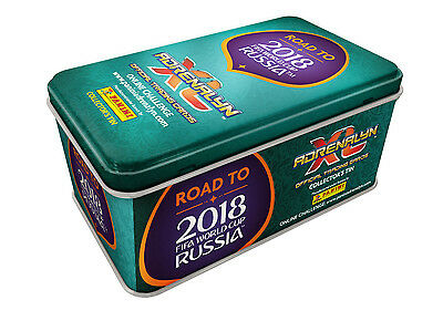 Big Tin Dose Road To World Cup 2018 Russia Adrenalyn XL Panini LIMITED EDITION