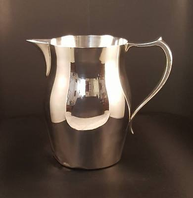 Prill Silver Co. Paul Revere Style Pitcher Silver Plate