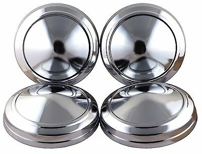 Set of 4 Hubcap fit for Mopar Police Dodge Plymouth Dog Dish Hub Caps
