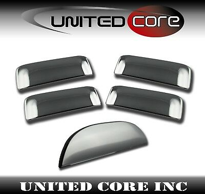 Fit 07-09 Ford Explorer Sport Trac Chrome 4 Door Handle Mirror Tailgate Covers