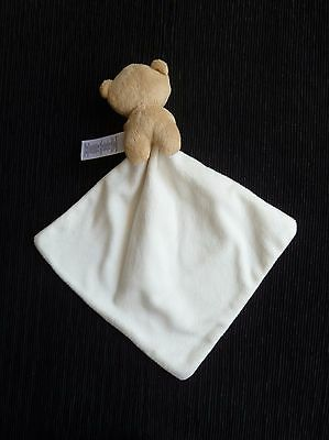 Baby clothes UNISEX BOY GIRL M&S cute teddy bear snuggle comforter blanket soft