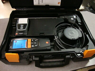 Testo 320 Combustion Analyzer Kit with Printer