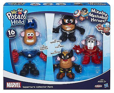 Marvel Mr Potato Head Mixable Mashable Super Hero Collector Pack