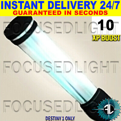 Destiny 1 Xp Boost 10 Focused Light~ Instant Delivery Guaranteed 24/7