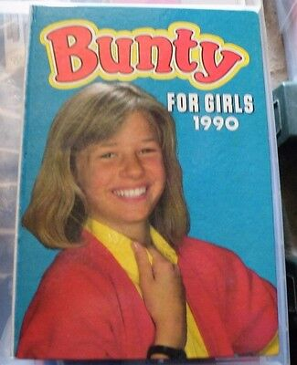 Bunty Annuals for Girl's 1990