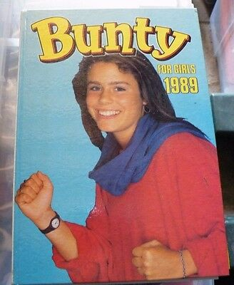 Bunty Annuals for Girl's 1989