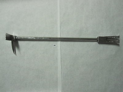 """Halligan 36"""" quic-bar Ziamatic   Forceable Entry Firemen's tool quick bar"""