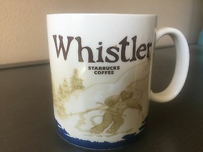 Starbucks Whistler Canada Global Icon Collector Series City Mug 2009 RARE