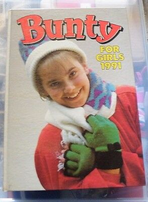 Bunty Annuals for Girl's 1991