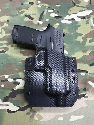 BLACK KYDEX HOLSTER Sig Sauer P320 Compact Threaded Barrel
