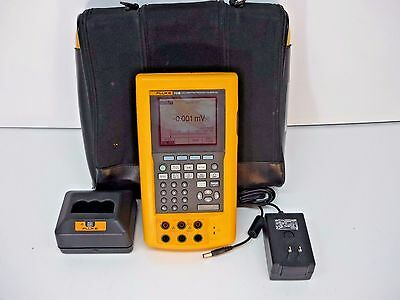 Fluke 743B Documenting Process Calibrator /w Data Logging & Battery & Charger