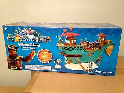 Skylanders Brand New Sealed Flynn's Ship Storage Toy Holds 10 Figures Xbox PS4