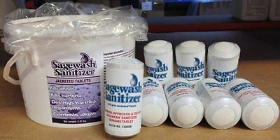 Sagewash Sanitizer Tablets