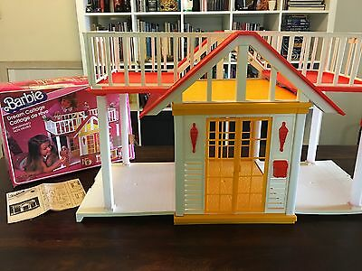 Vintage Mattel - 1982 - Barbie - Dream Cottage / House with Box - BEAUTIFUL
