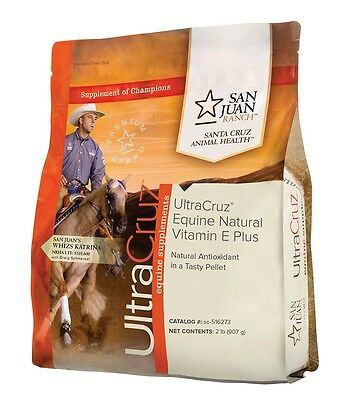 UltraCruz Natural Vitamin E Plus Supplement for horses, 2 lb (30 day supply)