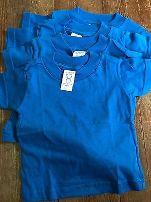 Lot Of 4 New Fruit Of The Loom Shirts Size 6m