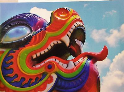Dragon Art Canvas Prnt One Of A Kind Signed Photo Artwork